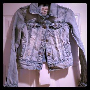 *MUDD* DISTRESSED* Jean jacket* NWOT*